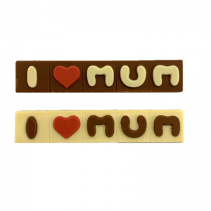 I heart mym chocolate bars