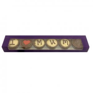I heart mum chocolate stip gift set