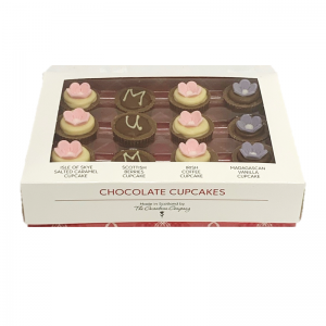 box of 12 scottish themed mum chocolates