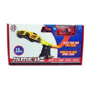 hotrodz car stunt track