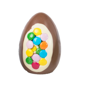 candy bean smarties inclusion easter egg chocolate