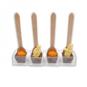 halloween hot chocolate spoon stirrers